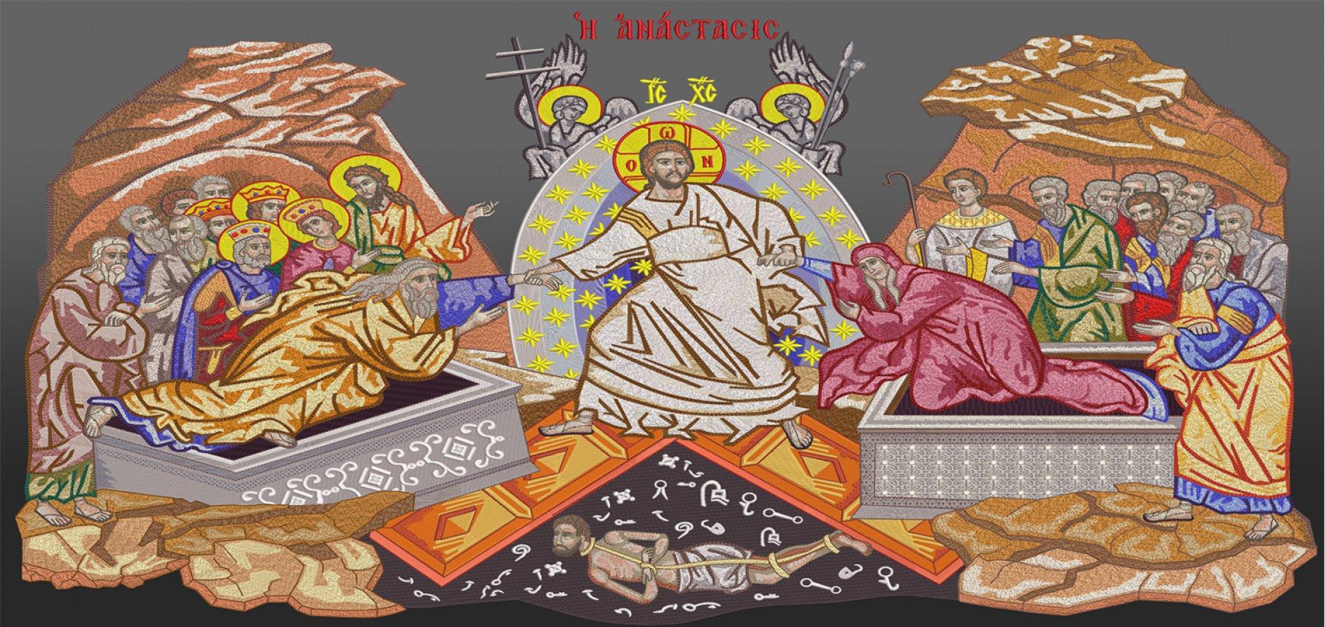 Κεντητές Αγιογραφίες