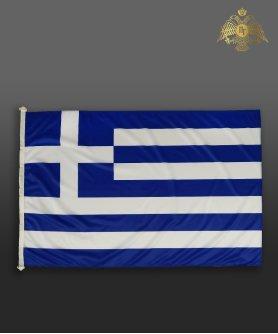 610-0003 Σημαία Ελληνική από χοντρό ύφασμα