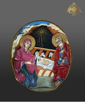 500-0112 Η γέννηση του Χριστού